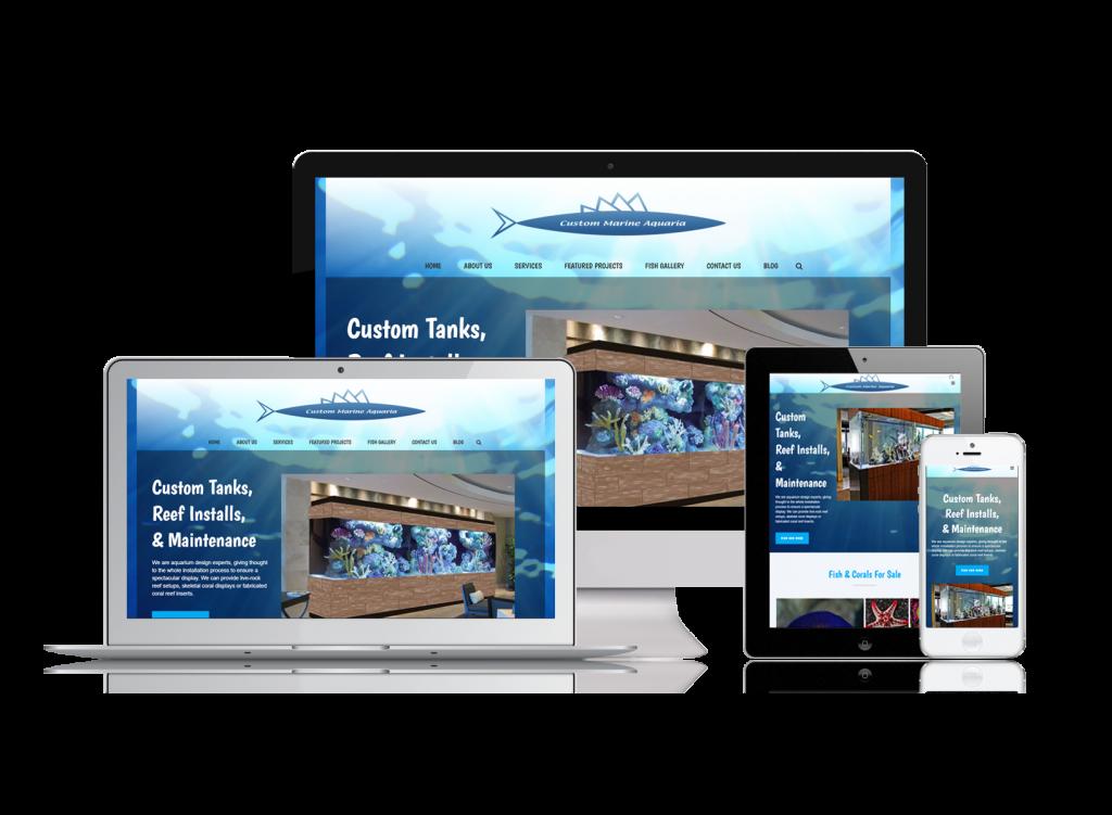 Custom Marine Aquaria